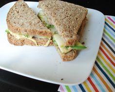 simple lunch: apple avocado sandwich