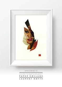 FlipSnack   Laurent NOTTE • Exposition Africarib 2.0 • Collages by Laurent Notte