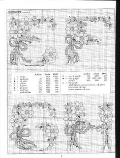 Floral Alphabet E-H