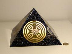Orgone  orgonite Pyramid All Powerful by OrgoniteCreations on Etsy