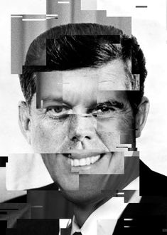 Olivier Ratsi's Political Depictions Mix Up Past American Leaders #collage #art trendhunter.com