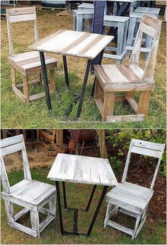 Let's share up the interesting idea of the wood pallet where you will customize the functional use of wood pallet over creation of garden chairs and table furniture piece. This furniture piece design is further put together in the involvement of the artistic blends of the creativity being part of it.
