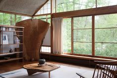 Nakashima - woodworker - Japanese American - Cereal (click image to enlarge)