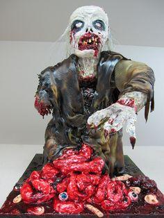 5. Pastel de Zombie  en un día normal.