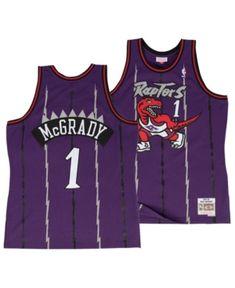 d3bc75b9f82 Mitchell   Ness Men s Tracy McGrady Toronto Raptors Hardwood Classic  Swingman Jersey - Purple S