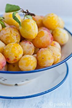 Mirabelle, a golden sugared flavored fruit. So yummy...