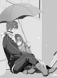 Noragami ~ Yato and Hiyori Noragami Anime, Yato X Hiyori, Manga Anime, Fanarts Anime, Anime Art, Manga Love, Anime Love, Yatori, Manga Couple