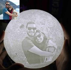 With customized moon lamp, you can keep your love and other happy memories literally illuminated for some long time to come. Bring this enchanting moon to your loved ones' room to let know you'll Love Them To The Moon And Back! With his/her photos engraving on the moon, he/she can now reactable experience the beautiful Customized Gifts For Boyfriend, Valentines Gifts For Boyfriend, Boyfriend Gifts, Valentine Gifts, Christmas Gifts For Couples, Unique Christmas Gifts, Gifts For Family, Bf Gifts, Couple Gifts