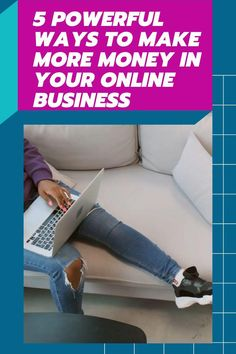 If you're looking for some quick and easy ways to make more money in your online business, this article is the perfect place to start. Here are five different strategies that will help you increase revenue without much effort at all! Let's get started! Start A Business From Home, Start Online Business, Starting A Business, Small Business Marketing, Business Tips, Creating Passive Income, Tips Online, Online Entrepreneur, Business Management