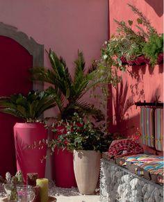 murs-et-jarre-jardin-peintures-un-dégradé-de-rouge-et-rose5