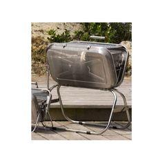 Grand Barbecue Sa forme de valise et son faible poids vous permettent d'organiser des barbecues où vous voulez. Facile à mettre en place, en un clin d'oeil, installez le charbon de bois, c'est prêt à utiliser.  A la plage, en bateau ou en pic-nic, n'hésitez plus, emmenez aussi votre barbecue.