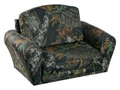 Awesome Camo Furniture Living Room | Camo Sleepover Chairs For Kids