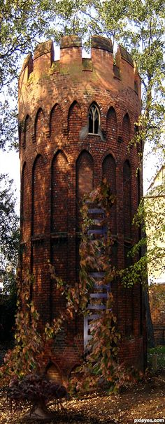 Rapunzel's Tower . Wales OH MY GOD! need to go here. weekend vacation to wales? Oh The Places You'll Go, Places To Travel, Places To Visit, Beautiful World, Beautiful Places, Abandoned Places, Abandoned Buildings, Belle Photo, Dream Vacations