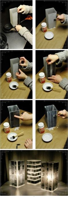 If you have some negatives packed away....this is pretty awesome. The Best Crafts From Pinterest: Simple, But Amazing