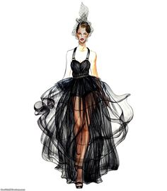 Directory Of Black Fashion Designers Fashion Illustrations by Sunny