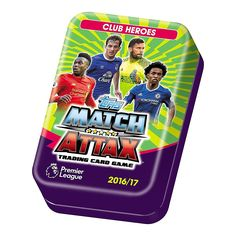 Topps Match Attax EPL 2016/2017 Trading Card Collector Mega Tin 16/17 (One Picked From Random): Amazon.co.uk: Toys & Games