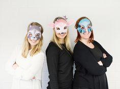DIY-Anleitung: Printables für 3D-Tiermasken via DaWanda.com