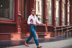 Cómo llevar la camisa blanca - ElleSpain