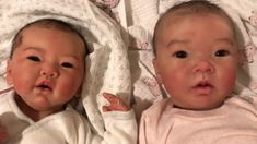 Comparing Silicone Baby Lynn with Emerie Mei (Andrea Arcello) Reborn Baby Dolls, Beautiful Things, Reborn Dolls, Realistic Baby Dolls