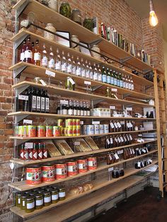 """seasonal pantry"" store display"