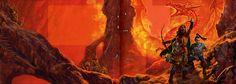 Dragonlance, Lost Chronicles, Dragons of the Dwarven Depths by Matt Stawicki (Mash-up).