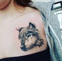 Tattoo Nr 5 (Wolf)