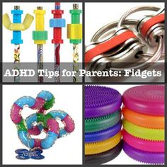 ADHD Tips for Parents: Fidgets.  They help kids focus... Help them fidget without letting them drive you crazy! @OaktreeCounsel
