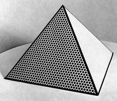 Roy Lichtenstein, 'Pyramid', 1968.