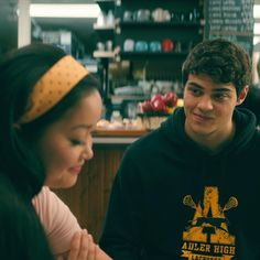 Why I didn't really like 'To all the boys I've loved before' – Movie & Book comparison Lara Jean, Movies For Boys, Good Movies, Movie Couples, Cute Couples, Love Movie, Movie Tv, Films Netflix, Jean Peters