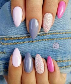 Looking for easy nail art ideas for short nails? Look no further here are are quick and easy nail art ideas for short nails. Nail Design Spring, Spring Nail Colors, Spring Nail Art, Spring Nails, Summer Nails, Spring Art, Pink Manicure, Diy Nails, Cute Nails