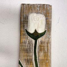Flor, por Cuca, artista local de Porto de Galinhas