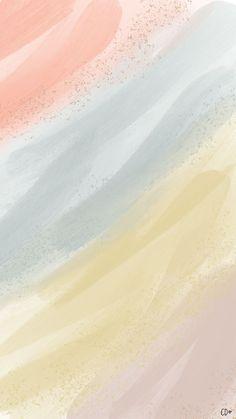 Callie Danielle Art - CD Phone Wallpapers - Best of Wallpapers for Andriod and ios Wallpaper Iphone Pastell, Beste Iphone Wallpaper, Iphone Background Wallpaper, Aesthetic Iphone Wallpaper, Aesthetic Wallpapers, Iphone Wallpapers, Pastel Wallpaper Backgrounds, Phone Wallpaper Cute, Watercolor Wallpaper Iphone
