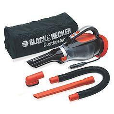 Black & Decker™ Dustbuster® Portable 12V Auto Vacuum in Orange/Black
