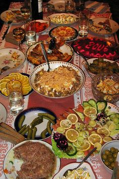 Russian Table Setting : Russian table setting  Dinner a la Russe  Pinterest  Photos, Home ...