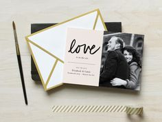 Featured Wedding Invitiation Design: Save the Date Collection by Fine Day Press
