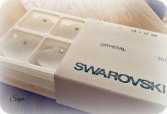 Swarovski Vintage Roses, Cube, Swarovski, Container, Handmade, Hand Made, Handarbeit