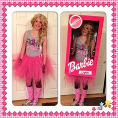 fight like a girl barbie halloween costume - Halloween Costume Barbie