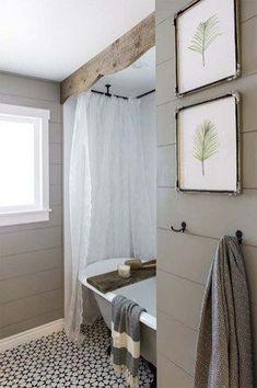 Beautiful Urban Farmhouse Master Bathroom Remodel (38)