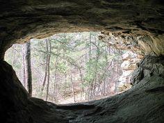 Small Cave on Petit Jean---Morrilton, Arkansas