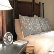 Modern Styling for An Antique Bed - The Decorologist