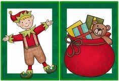 """Englisch in der Grundschule: Ergänzende Flashcards """"Christmas"""""""