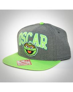 Oscar Arched Word Snapback Hat
