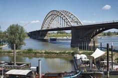 Waalbrug Nijmegen dicht om nieuwe bouwtekening
