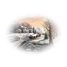 chrismist_christmas_61.png ❤ liked on Polyvore featuring winter, landscape, tubes winter and zima