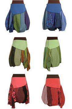 skirts! upcycled, handmade, garment-dyed at secret lentil clothing