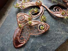 Ivy Leaf, Brooch, Handmade, Jewelry, Hand Made, Jewlery, Jewerly, Brooches, Schmuck