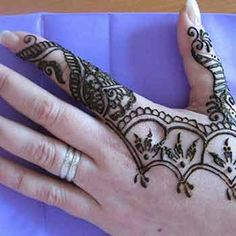 28 Easy And Simple Mehndi Designs That You Can Do By Yourself