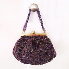 🆕 🎉2X HP🎉 Frenchi beaded evening handbag NWOT NWOT. Material: beaded-hand-knit / rhinestone embellished push-lock closure / fabric lining inside; one slip pocket / purchased at Neiman Marcus / elegant and sophisticated, this purse is a must-have for any occasions. 10% bundle discount. Free beauty gift with $25 purchase. Free shipping with $75 purchase. ❗️Please use the offer button / no trades! Frenchi Bags