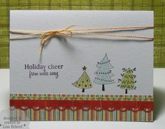 Cute Christmas Trees by LisaEDesign - Cards and Paper Crafts at Splitcoaststampers