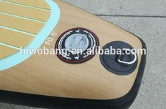 SENT APPLICATION 11' Wood Grain Popular Pattern Inflatable Stand up Paddle Board, Surf Board, SUP board